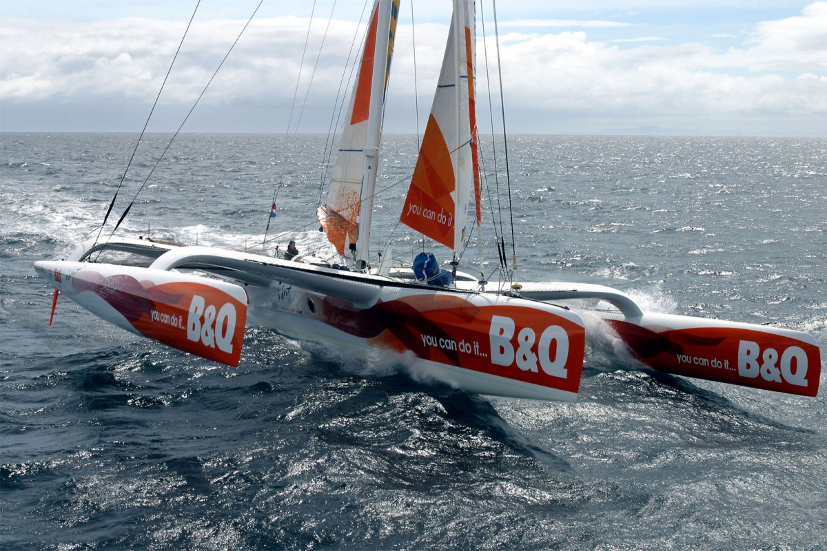 Racing Trimaran Archives - Nigel Irens Design