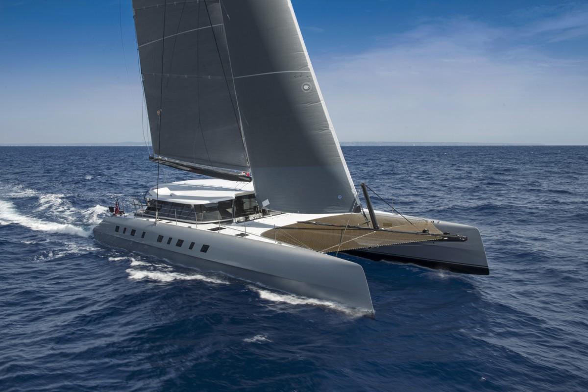 A Cat Unlike Any Other - MOONWAVE - Gunboat 60 Catamaran